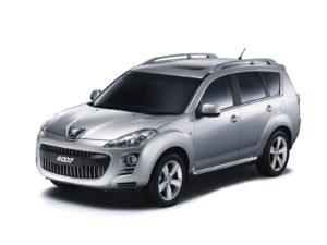 Шумоизоляция салона автомобиля Peugeot 4007